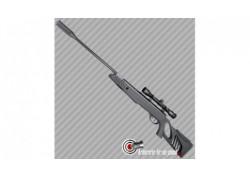 Carabine à plombs Swiss Arms SA1000 noir Tactical stock lunette 4x32 - 5.5mm