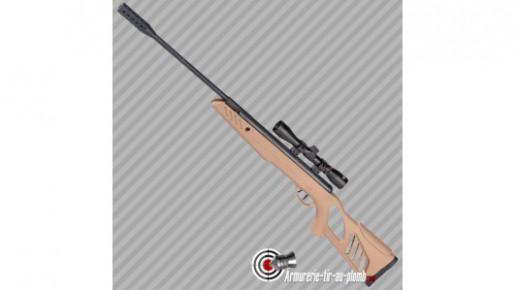 Swiss Arms TAC1 Carabine a Plomb Couleur Tan Avec Lunette 4x32 Calibre 5,5 mm