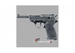 Pistolet à billes acier Walther P38 Legendary calibre 4.5mm bbs