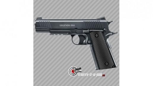 Pistolet à billes d'acier Legends 1911 CO2