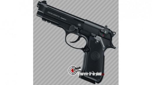 Pistolet billes acier Beretta 92A1 - cal 4.5mm bbs