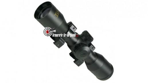 Lunette Ten Point 4x34 réticule lumineux - 11 mm