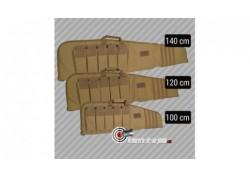 Housse carabine coyote camo - 120cm