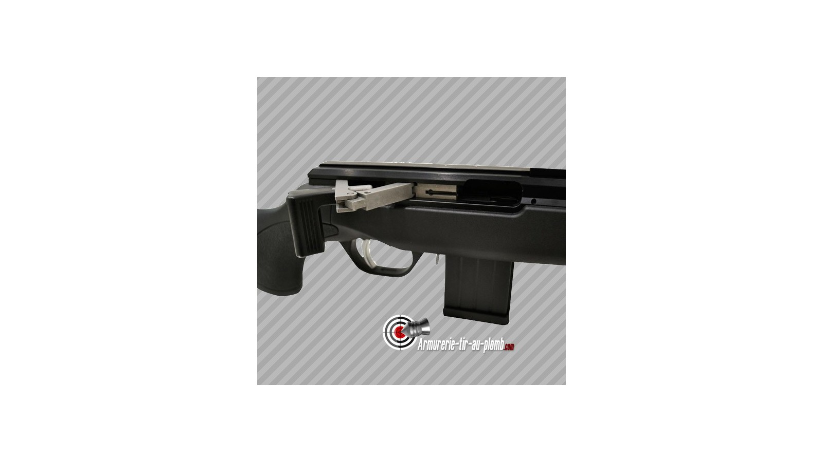 Carabine issc 22 lr synth tique spa for Armurerie salon