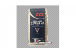50 cartouches CCI 22WMR Win mag 1875fps
