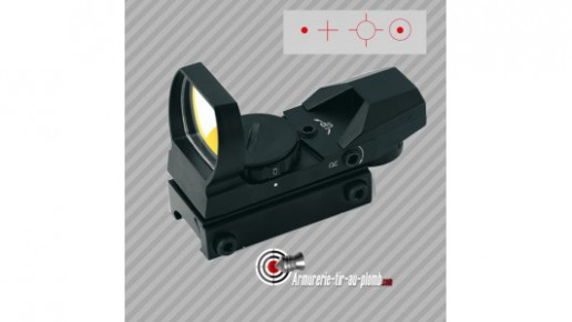Point rouge Veoptik RD400 MRS multi-réticules