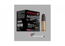 500 cartouches Winchester 22LR 40gr M22