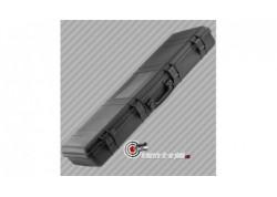 Mallette pour carabine polycarbonate noire - 105 cm