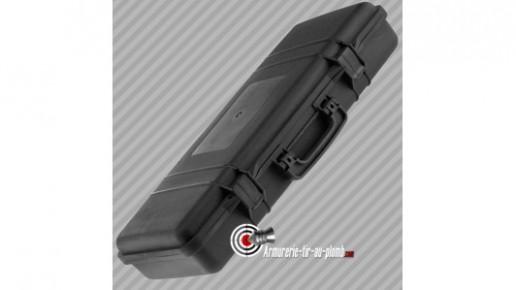 Mallette pour carabine polycarbonate noire - 68.5 cm