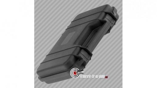 Mallette pour carabine polycarbonate noire - 31.5 cm