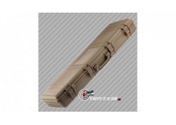 Mallette pour carabine polycarbonate TAN - 105 cm