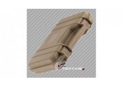 Mallette pour arme de poing polycarbonate TAN - 31.5 cm