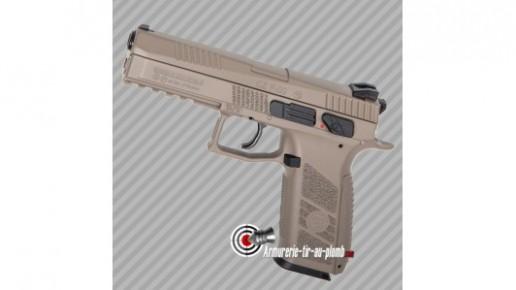 Pistolet à plombs CZ P-09 DT-FDE au CO2 - 3.7 joules - cal 4.5mm