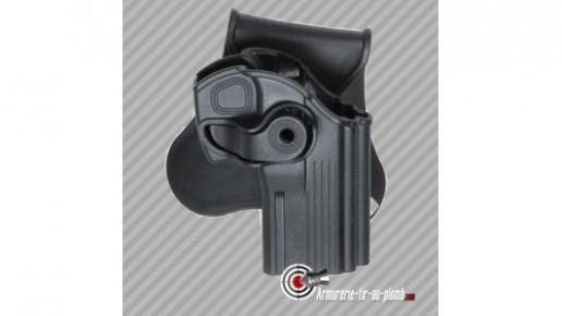 Holster pour réplique CZ75D en polymère noir