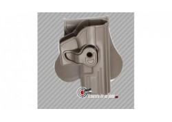 Holster ceinture rigide pistolet G series pour droitier finition FDE
