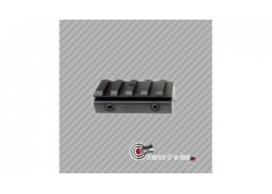 Petit rail picatinny 22mm seul