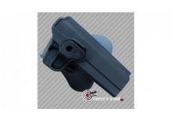 Holster ceinture rigide polymère pistolet Colt 1911 Swiss arms