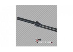 Silencieux modérateur de son pour carabine Weihrauch HW77 - calibre 5.5mm