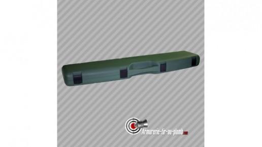 Grande mallette de chasse carabine fusil polypropylène rigide 125cm