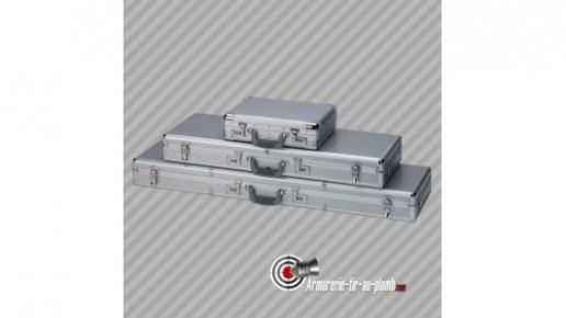 1 Mallette aluminium valise pour transport arme d'épaule 123cm