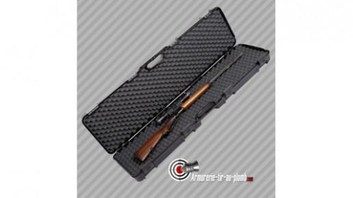 Valise transport pour fusil noire 110cm