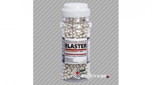 1000 billes plastiques 0.13g légères - calibre 4.5mm bbs
