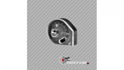 Chargeur rotatif pour carabine PCP Kral - 14 plombs