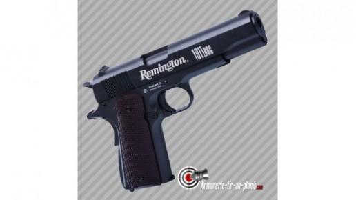Pistolet à billes d'acier Crosman Remington 1911 CO2 - cal 4.5mm