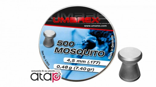 Mosquito Umarex Boîte De 500 Munitions Plomb 4,5 mm