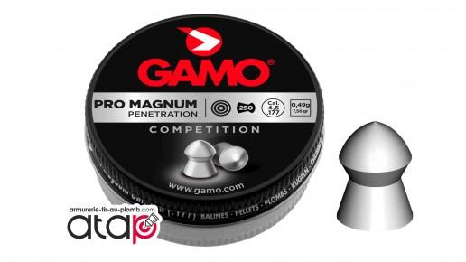 Gamo Pro Match Boîte de plomb pointu 4,5 mm