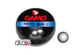 Bille de plomb Round Gamo calibre 4,5 mm