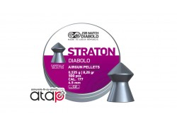 Straton Diabolo JSB Match Boîte De 500 Munitions Plomb 4,5 mm