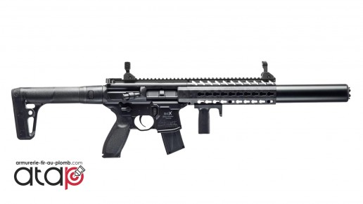 Carabine à plomb SIG SAUER MCX ASP à CO2, calibre 4.5mm