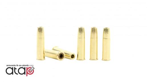 6 Douilles Plomb Diabolo 4,5 mm Pour Revolver Schofield