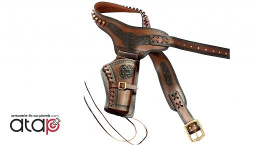Holster Cowboy en cuir