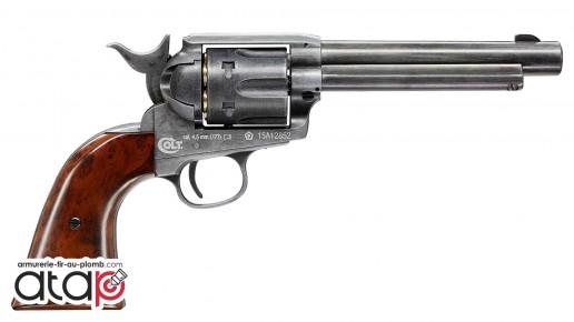 Colt SAA 45 à plomb couleur antique finish