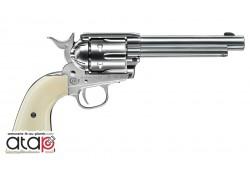 Revolver à plomb Colt Saa 45 couleur nickel