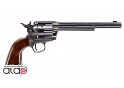 Colt SAA 45 canon 7,5 pouces couleur bleu