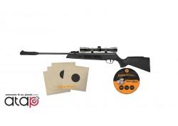 Pack Carabine à plombs ARTEMIS 1000S calibre 4.5mm de 19.9 Joules