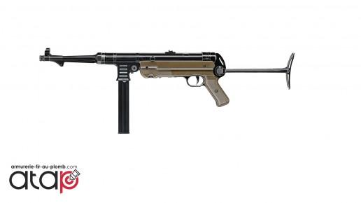 Pistolet mitrailleur MP German à CO2 en billes acier 4.5 mm