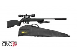 Pack Carabine 22LR Webley & Scott canon carbone