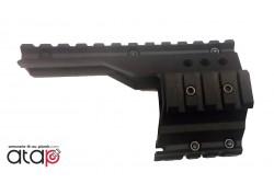 Fixation pour 4 rails Picatinny pour pistolet Walther