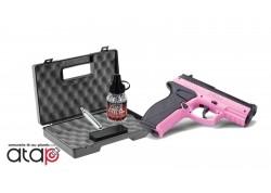 Pack Saint Valentin Pistolet à bille acier crosman P10 Wildcat dans une mallette, 1500 billes acier et 10 capsules de CO2