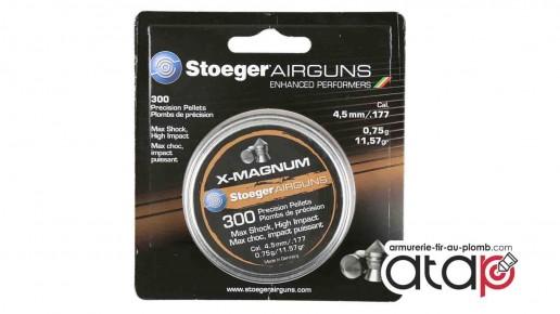 Stoeger X-Magnum Boîte de plomb 4,5 mm