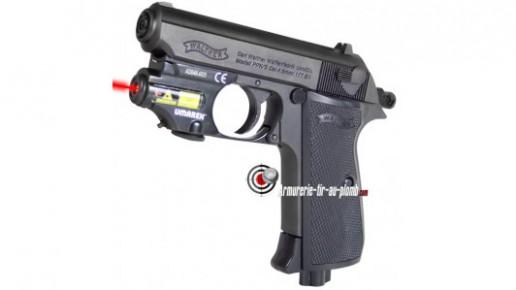 Walther PPK + laser à 1 €