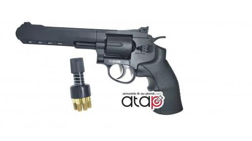 SR357 Revolver Bille Acier