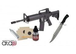 Carabine à bille d'acier M4