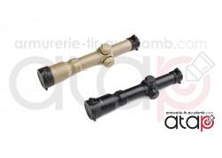 Lunette de visée tactique 1-4x24 AIM-O noir ou Tan