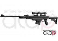 Carabine à air comprimé tactique Pendleton cal 4.5 mm 20 joules
