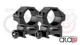 Colliers de montage bas pour lunette de 25.4 mm - 22 mm